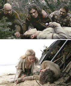 Tristan & Isolde (2006) Starring: Hans Martin Stier as Kurseval, Henry Cavill as Melot, JB Blanc as Leon, James Franco as Tristan, and Sophia Myles as Isolde. Tristan is severely wounded in the fight and believed dead. His body is put out to sea on a funeral boat which eventually washes up along the shores of Ireland.