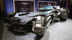 The Batmobile from Batman v Superman Dawn of Justice Photo Gallery - Autoblog