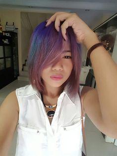 Perdana warnai rambut fullcolor
