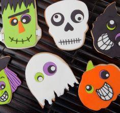 #Halloween #Decorated #Cookies via #TheCookieCutterCompany