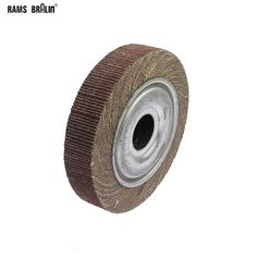 "6""*1""*1"" Flange Abrasive Flap Wheel Sanding Cloth Mop Wheel Metal Wood Polishing Grinding Sale Only For US $11.40 on the link"