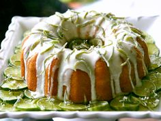 Libby's Key Lime Cream Cheese Pound Cake - Review: This one's a keeper! The cream cheese makes all the difference from your typical Key Lime pound Cakes. The crunchy glaze is everyone's favorite.