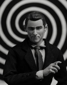 The Twilight Zone Rod Serling Figure