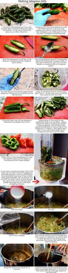 Jalapeno or Hot Pepper Jelly | Mel's Kitchen Cafe