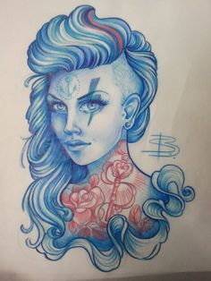 Tattoo Artwork by Steffi Boecker