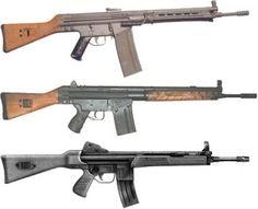 Fusil CETME | Mod. B , C y L