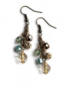 Sheer Addiction Jewelry - Halle earrings