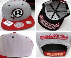 NFL Washington Redskins MN Velcro Closure Hat 01