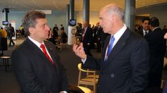 President Ivanov with Greek Prime Minister George Papandreou