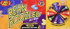 Jelly Belly Bean Boozled jelly beans are a collection of 20 flavors. Excellent fun for your kids. Jelly Belly Bean Boozled Spinner Game - fun for the campsite. Jelly Belly Beans, Jelly Beans, Gourmet Gifts, Gourmet Recipes, Gourmet Candy, Jawbreaker Candy, Jelly Bean Game, Bean Games, Thing 1