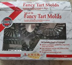 Norpro Fancy Tart Molds - Set of 36 Mini Tartlette Sturdy Tin Pans - for making Mini Quiche and Chocolate Cups - Candle or Soap Making - Best finger food list Chocolate Cups, Melting Chocolate, Quiche, Tart Molds, Host Gifts, Mini Tart, Finger Sandwiches, How To Make Chocolate, How To Make Bread