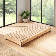 国産無塗装ひのき天然木 親子すのこベッド 下段ベッド(シングルサイズ) 通販 - ディノス