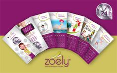 Calendario Zoely Design, Calendar, Wellness, Design Comics
