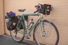 Atlantis with Beausage. Touring Bicycles, Touring Bike, Vintage Bikes, Retro Vintage, Cycling Accessories, Camping Coffee, Fat Bike, Dionysus, Atlantis