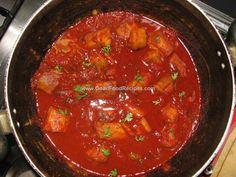 shark ambot tik (sour n spicy shark) Goan Recipe