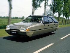 Flying Citroen BX Break by ~JacobMunkhammar on deviantART