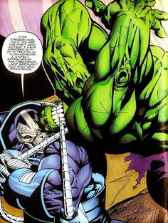 """Hulk vs My Favorites Apocalypse - My Marvel favorite villain doesn't fight fair. He's the supreme and oldest mutant around for some reason. """"Survival of the Fittest. Goku Vs Superman, Superhero Superman, Dr Doom Marvel, Marvel Vs, Apocalypse Marvel, Empire Characters, Red Hulk, Naruto Vs, Hulk Smash"""