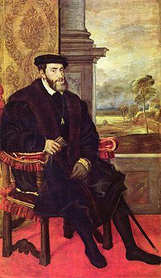 Karel V Koning van spanje Keizer van duitsland Landsheer van nederland