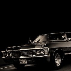 Chevy Impala This fucker is my dream car Chevrolet Impala 1967, 67 Impala, Supernatural Impala, Dean Winchester, Winchester Brothers, Sexy Cars, Hot Cars, My Dream Car, Dream Cars