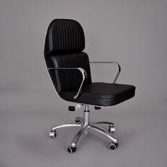 80's Italian Scooter Swivel Chairs - More via Trouge.com