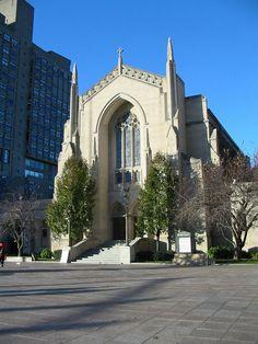 Marsh Chapel, Boston University