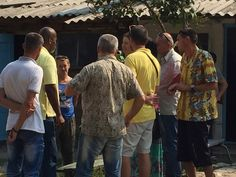 Teaching about the tzitzit in a Rehabilitation center in the city of Kavkaz Russia 9.6.15