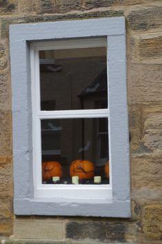 Halloween pumpkins in St Andrews