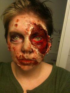 Incredible Zombie make-up
