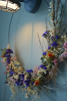 Diy Krans, Lavender Wreath, Use Of Plastic, Chip And Joanna Gaines, Lambs Ear, Home Room Design, Easter Wreaths, Diy Wreath, Pretty Flowers