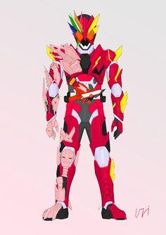Spiderman Crossover, Hero Time, Zero One, Kamen Rider Series, Marvel Entertainment, Power Rangers, Geek Stuff, Fan Art, Superhero