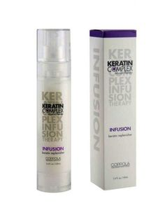Coppola Keratin Infusion, 3.4 Ounce***An anti frizz straightening treatment,Unique formulation with advanced infusion technology,Use for blow drying and ironing,.
