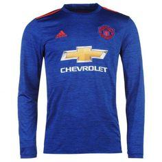 £22.99 Manchester United Away Long Sleeve Shirt 2016 2017