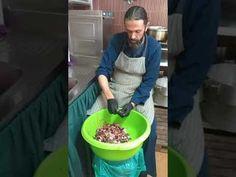 """ο Πατέρας Παρθένιος καθαρίζει ψάρια (Φρίσα) για το φιλανθρωπικό έργο """"ΑΝΘΡΩΠΕ ΑΓΑΠΑ"""" - YouTube Canning, Youtube, Recipes, Ripped Recipes, Home Canning, Youtubers, Cooking Recipes, Youtube Movies"""
