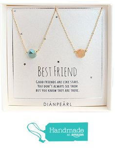 26$ Best friend necklace, BFF Necklace, friendship necklace for 2…