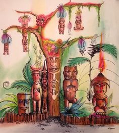 Enchanted Tiki Room, Disneyland - Rolly Crump