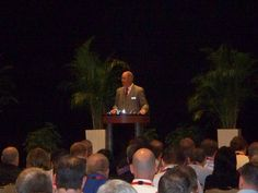 Bob Miller, Executive Director of the Shingo Prize for Operational Excellence kicks off the 2012 Shingo Prize International Conference.