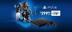 El Playstation 4 Slim de 1TB pronto se venderá en Estados Unidos