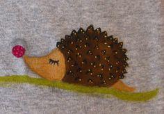 A hedgehog!!