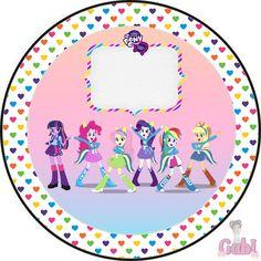 Fazendo a Propria Festa: Kit Equestria Girls ( My Little Pony )