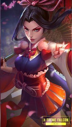 Character Makeup, Character Design, The Legend Of Heroes, Disney Makeup, Mobile Legend Wallpaper, Hanabi, Digital Art Girl, Mobile Legends, Fantasy Girl