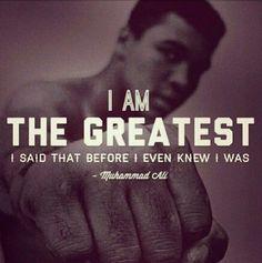 The art of manifestation Muhammad Ali quote