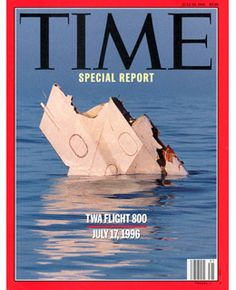 TWA FLIGHT 800 - JULY 17, 1996 - The sea speaks in many voices. On that first morning after the explosion of TWA Flight 800, amid the overwhelming stench of burning jet fuel and the plane's charred remains, hundreds of letters floated on the surface of the Atlantic, unanchored memories of diplomats, designers, doctors and teenagers. A postcard of the Statue of Liberty had become an interrupted souvenir, an image of the monument born in France that never made . . . .  ~ TIME, July 29, 1996