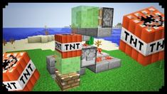 Minecraft xbox 360 ps3 plane missile tutorial slime block minecraft how to make a slime block cannon ccuart Image collections