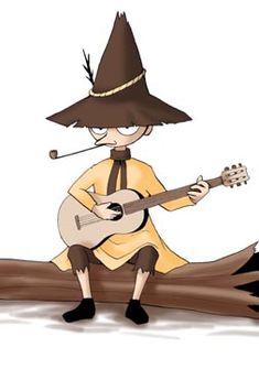 スナフキンのギター Moomin Valley, Art Sketches, Zentangle, Shit Happens, History, Illustration, Cute, Anime, Guitar
