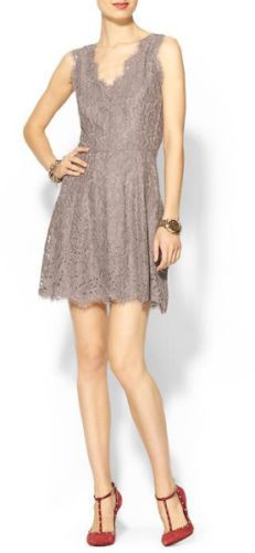 NEW-298-M-Joie-Nikolina-Lace-Dress-in-Mink-Medium-8-10 - also available in 12/14 - $60