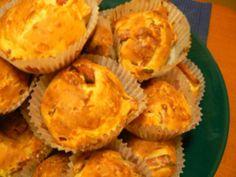 kinkku-juustomuffinit Muffin, Breakfast, Food, Morning Coffee, Essen, Muffins, Meals, Cupcakes, Yemek