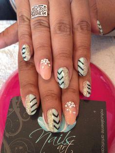#acrylic nails #summer nails