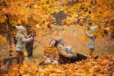 15 Ideas For Autumn Photos That You Will Definitely Want To Repeat