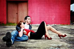 Rockabilly and Psychobilly Couples Gallery 6 Rockabilly Family Photos, Rockabilly Couple, Rockabilly Rebel, Rockabilly Fashion, Rockabilly Style, Rockabilly Ideas, Rockabilly Wedding, Couple Posing, Couple Shoot