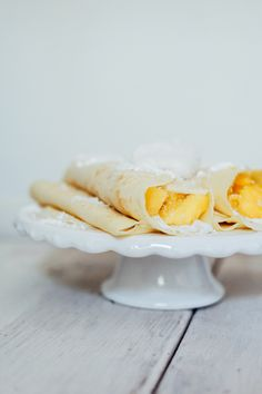 Recipe // Tropical Crepes with Coconut Whipping Cream — Treasures ...